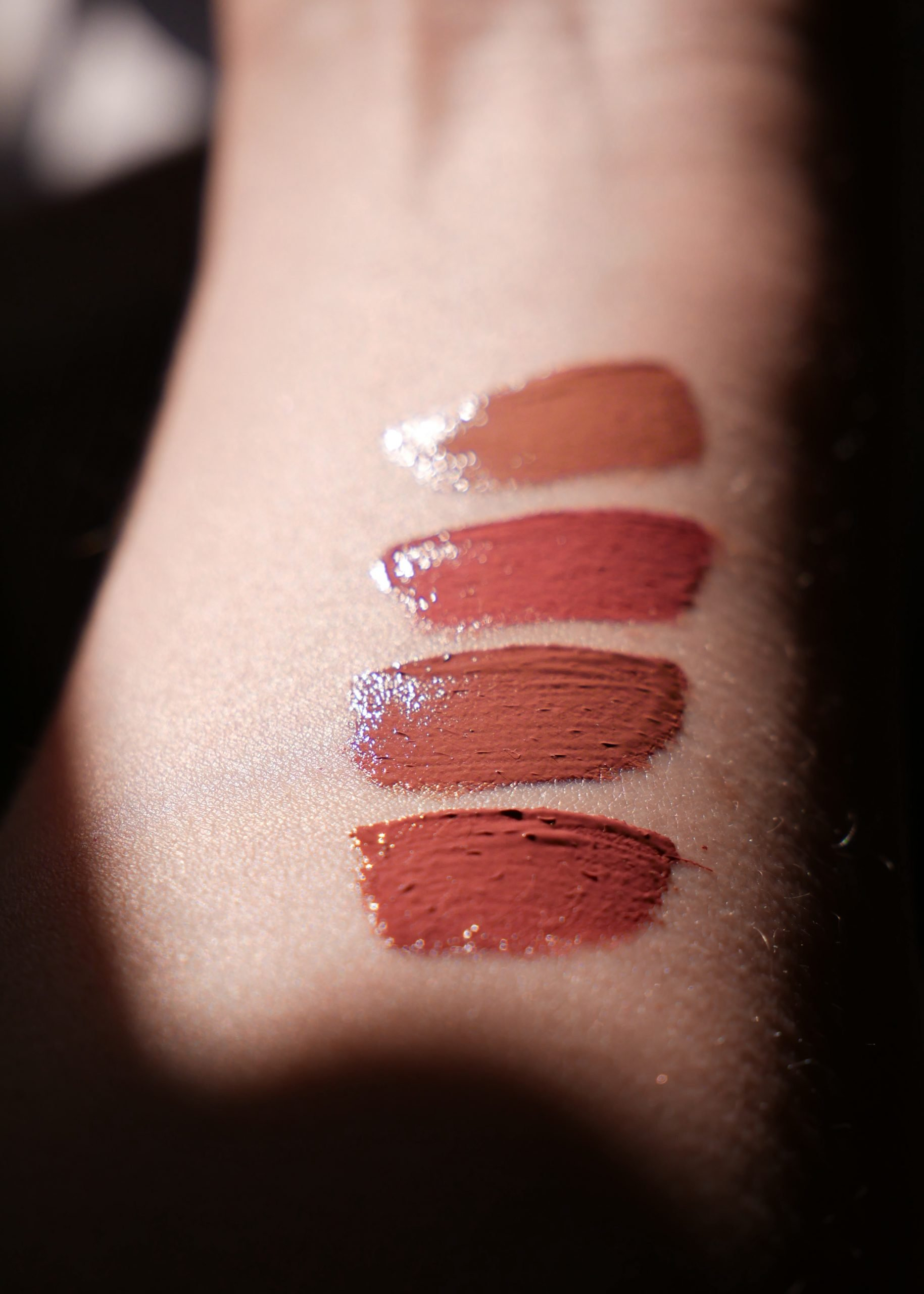 Patrick Ta Silky Lip Creme Swatches